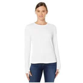 アシックス ASICS レディース トップス 【Run Silver Long Sleeve Top】Brilliant White