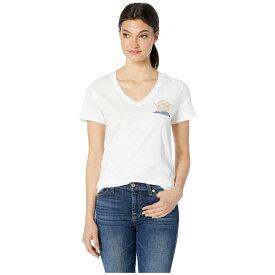 ハーレー Hurley レディース Tシャツ Vネック トップス【Flying High Perfect V-Neck Short Sleeve】White