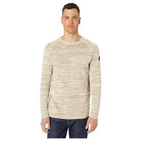 ジースター ロゥ G-Star メンズ ニット・セーター トップス【Core Straight Round Neck Long Sleeve Knit】Sahara/Ivory