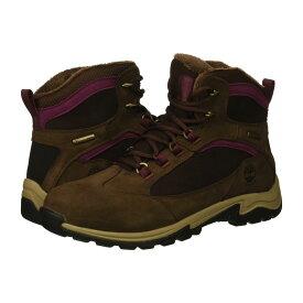 ティンバーランド Timberland レディース スキー・スノーボード シューズ・靴【Mt. Maddsen Winter Waterproof Insulated】Dark Brown Nubuck