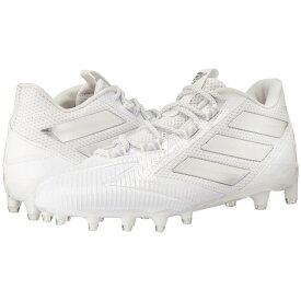 アディダス adidas メンズ アメリカンフットボール シューズ・靴【Freak Carbon Low】White/Silver/White