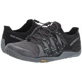 メレル Merrell レディース ランニング・ウォーキング シューズ・靴【Trail Glove 5 3D】Black