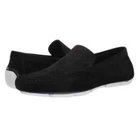 カルバンクライン Calvin Klein メンズ ローファー シューズ・靴【kaleb】Black Calf Suede