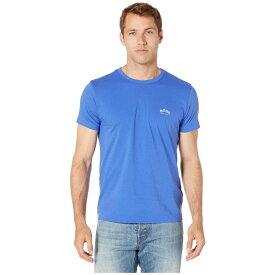 ヒューゴ ボス BOSS Hugo Boss メンズ Tシャツ トップス【tee curved】Medium Blue