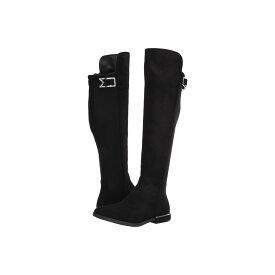 カルバンクライン Calvin Klein レディース ブーツ シューズ・靴【presley】Black Microsuede/Neoprene