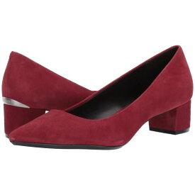 カルバンクライン Calvin Klein レディース パンプス シューズ・靴【genoveva pump】Red Rock Suede