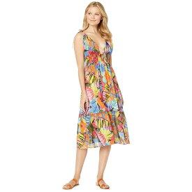 ラルフ ローレン Polo Ralph Lauren レディース ビーチウェア ワンピース・ドレス 水着・ビーチウェア【batik floral midi dress】Multicolored