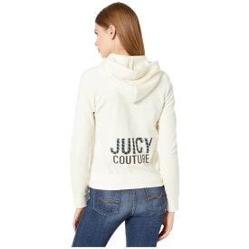 ジューシークチュール Juicy Couture レディース パーカー トップス【Juicy Multi Bling Velour Robertson Jacket】Angel