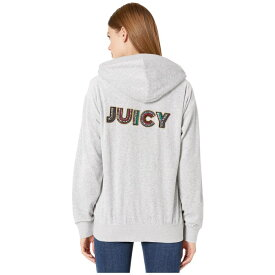 ジューシークチュール Juicy Couture レディース パーカー トップス【Luxe Juicy Velour Beachwood Jacket】