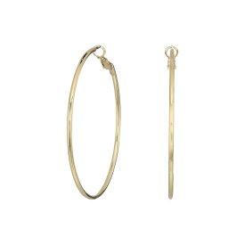 ケネスジェイレーン Kenneth Jay Lane レディース イヤリング・ピアス ジュエリー・アクセサリー【Small Gold Hoop Post Ear Earrings】Gold