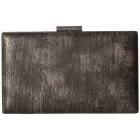 カルバンクライン Calvin Klein レディース クラッチバッグ バッグ【Brushed Metallic Evening Bag】Gunmetal