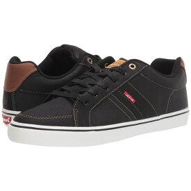 リーバイス Levi's Shoes メンズ スニーカー シューズ・靴【Turner Tumbled Wax】Black/Tan