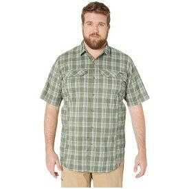 コロンビア Columbia メンズ 半袖シャツ 大きいサイズ トップス【Big and Tall Silver Ridge Lite Plaid Short Sleeve Shirt】Cypress Buff Check