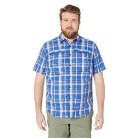 コロンビア Columbia メンズ 半袖シャツ 大きいサイズ トップス【Big and Tall Silver Ridge 2.0 Multi Plaid Short Sleeve Shirt】Azul Plaid
