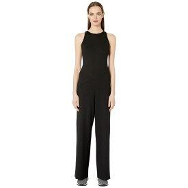 メゾン マルジェラ MM6 Maison Margiela レディース オールインワン ジャンプスーツ ワンピース・ドレス【High Neck Jumpsuit】Black