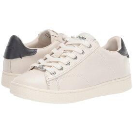コーチ COACH レディース スニーカー シューズ・靴【C126 Leather Lt Sneaker】White/Midnight Navy