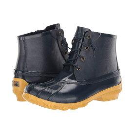スペリー Sperry レディース レインシューズ・長靴 シューズ・靴【Syren Gulf Rubberized】Navy