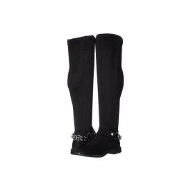 カルバンクライン Calvin Klein レディース ブーツ シューズ・靴【Akia】Black Stretch Microsuede