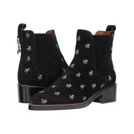 コーチ COACH レディース ブーツ チェルシーブーツ シューズ・靴【Bowery Chelsea Boot】Black Prairie Leather