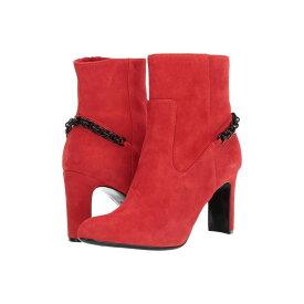 カルバンクライン Calvin Klein レディース ブーツ シューズ・靴【Owena】Process Red Suede