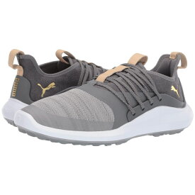プーマ PUMA Golf メンズ スニーカー シューズ・靴【Ignite Nxt Solelace】Gray Violet/Team Gold/Quiet Shade