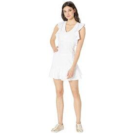 リリーピュリッツァー Lilly Pulitzer レディース テニス ワンピース トップス【UPF 50+ Rally Tennis Dress】Resort White Nylon Tennis Monkey Knit Jacquard
