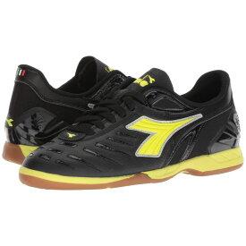 ディアドラ Diadora レディース サッカー シューズ・靴【Maracana 18 W ID】Black/Fluo Yellow