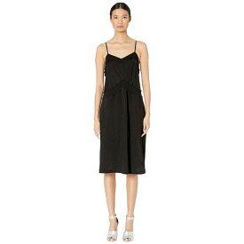 メゾン マルジェラ MM6 Maison Margiela レディース ワンピース ワンピース・ドレス【Color Block Jersey Dress】Black