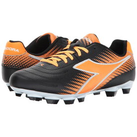 ディアドラ Diadora レディース サッカー シューズ・靴【Mago L W LPU】Black/Orange