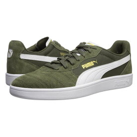 プーマ PUMA メンズ スニーカー シューズ・靴【Astro Kick】Forest Night/Puma White/Puma Team Gold