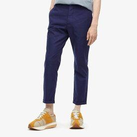 マルニ MARNI メンズ ボトムス・パンツ 【Compact Cotton Twill Pants】Blue
