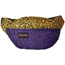 ジャンスポーツ JanSport ユニセックス ボディバッグ・ウエストポーチ バッグ【Fifth Avenue】Purple Leopard Life