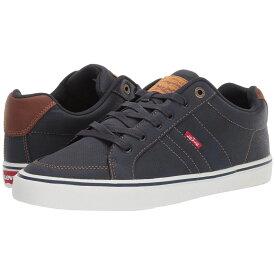 リーバイス Levi's Shoes メンズ スニーカー シューズ・靴【Turner Tumbled Wax】Navy/Tan