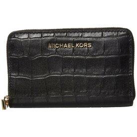 マイケル コース MICHAEL Michael Kors レディース カードケース・名刺入れ 【Jet Set Small Zip Around Card Case】Black
