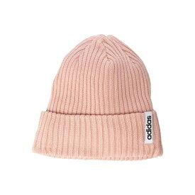 アディダス adidas レディース ニット ビーニー 帽子【Hawthorn Fold Beanie】Light Pink