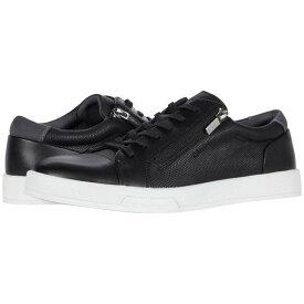 カルバンクライン Calvin Klein メンズ スニーカー シューズ・靴【Bilton】Black Smooth/Emboss/Suede