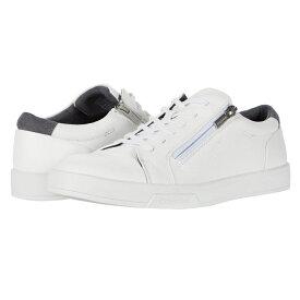 カルバンクライン Calvin Klein メンズ スニーカー シューズ・靴【Bilton】White Smooth/Emboss/Suede