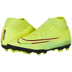 ナイキ Nike レディース サッカー シューズ・靴【Superfly 7 Club MDS FG/MG】Lemon Venom/Black/Aurora Green