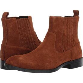 カルバンクライン Calvin Klein メンズ ブーツ チェルシーブーツ シューズ・靴【Cliff Mid Chelsea Boot】Tan Calf Suede
