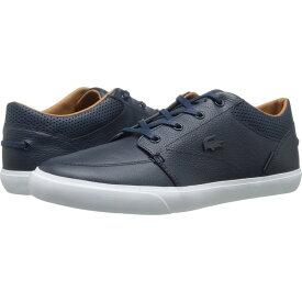 ラコステ Lacoste メンズ スニーカー シューズ・靴【Bayliss Vulc Prm】Dark Blue/Dark Blue
