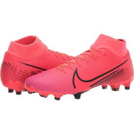 ナイキ Nike レディース サッカー シューズ・靴【Superfly 7 Academy FG/MG】Laser Crimson/Black/Laser Crimson