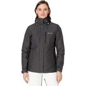 コロンビア Columbia レディース スキー・スノーボード ジャケット アウター【Whirlibird IV Interchange Jacket】Black Cross-Dye/Black