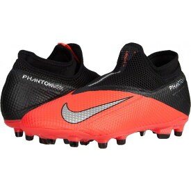 ナイキ Nike レディース サッカー シューズ・靴【Phantom VSN 2 Academy DF FG/MG】Laser Crimson/Metallic Silver/Black