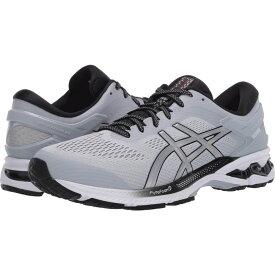 アシックス ASICS メンズ ランニング・ウォーキング シューズ・靴【GEL-Kayano 26】Piedmont Grey/Pure Silver