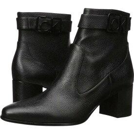 カルバンクライン Calvin Klein レディース ブーツ シューズ・靴【Freema】Black Pebble Grain