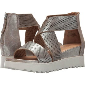 スティーブン ニューヨーク STEVEN NEW YORK レディース サンダル・ミュール ウェッジソール シューズ・靴【NC-Klein Wedge Sandal】Metallic Leather