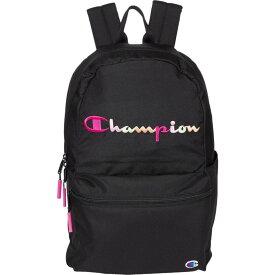 チャンピオン Champion レディース バックパック・リュック バッグ【Billboard Backpack】Black/Pink