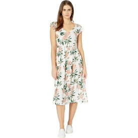 ロキシー Roxy レディース ワンピース ワンピース・ドレス【Rush Minute Dress】Snow White Tropical Day