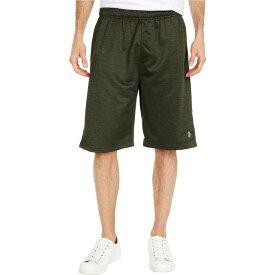 ユーエスポロアッスン U.S. POLO ASSN. メンズ ショートパンツ ボトムス・パンツ【Space Dyed Shorts】Army Green Heather