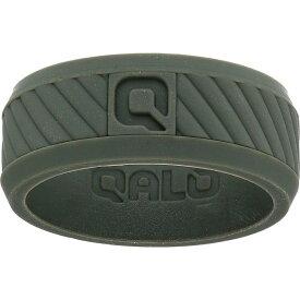 Qalo メンズ 指輪・リング ジュエリー・アクセサリー【Traverse Silicone Ring】Sage